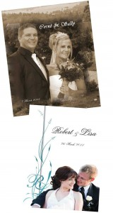wedding videos, souvenir booklets