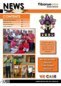 Shared Services quarterly newsletter